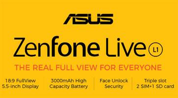Fitur Asus ZenFone Live L1