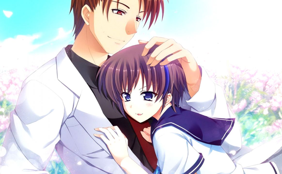 Cute anime couple wallpaper hd wallpapers jobs - Cute anime couple wallpaper ...