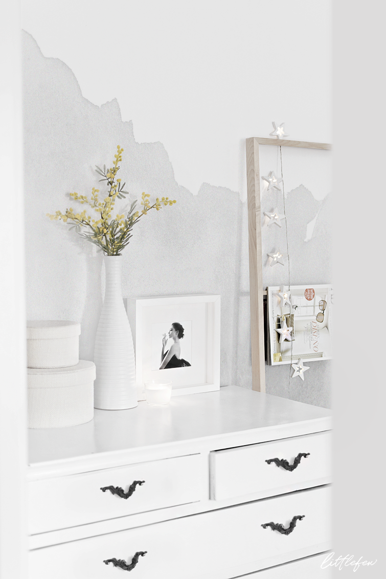 GREY MURAL WALLPAPER / Papel decorativo en gris