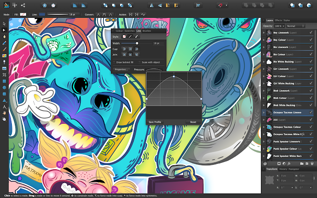 affinity designer Programas vectoriales alternativos a Adobe Illustrator
