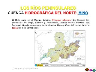 Cuenca hidrografica de Miño