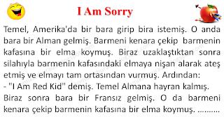 I Am Sorry - Temel Fıkraları - Komikler Burada