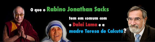 Um Rabino, a Madre Teresa e o Dalai Lama