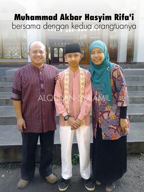Mengenal Muhammad Akbar Hasyim Rifa'i, Pemuda hafidz 20 Juz Asal Bandung