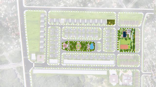 khu cảnh quan thể thao dich vu Phổ Yên Residence
