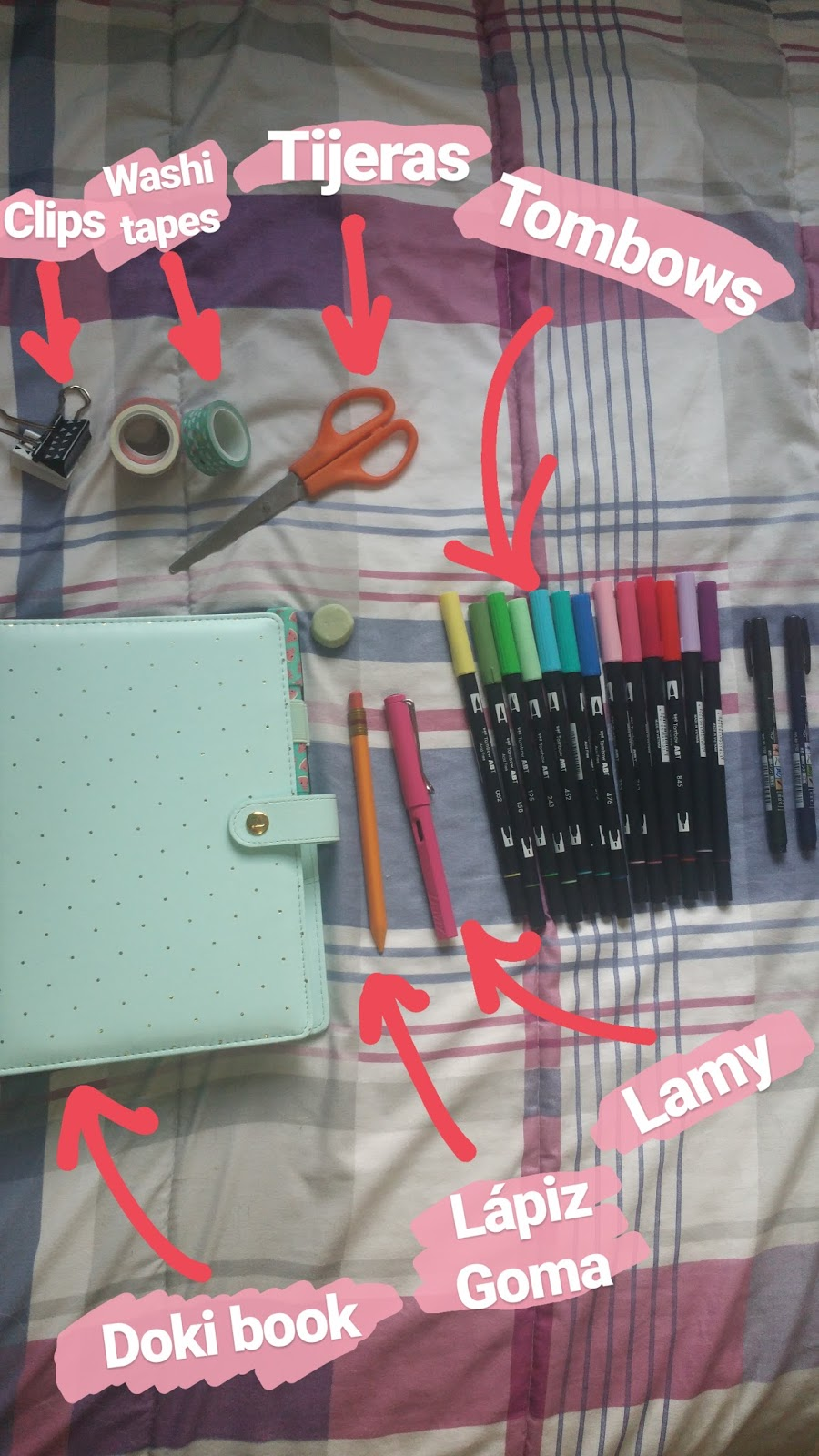 Mis imprescindibles para el bullet journal 2
