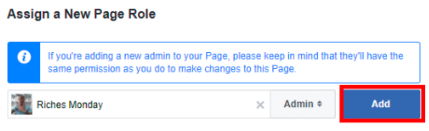 Adding An Admin On Facebook<br/>