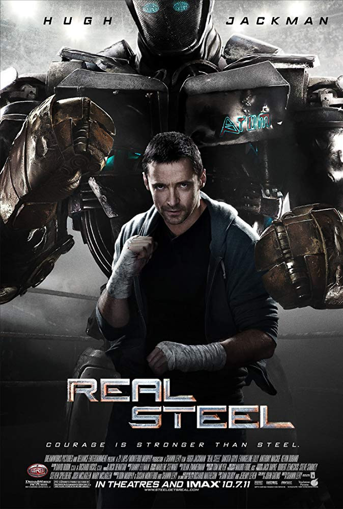 Real Steel 2011 Hindi Dual Audio 900MB BluRay ESubs Download