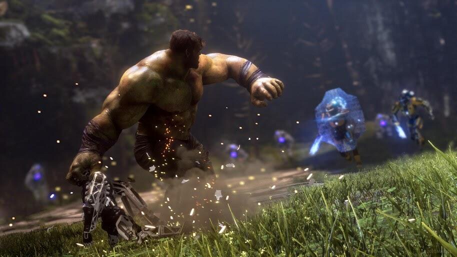 Hulk, Marvels Avengers, Game, Battle, 4K, #5.2599