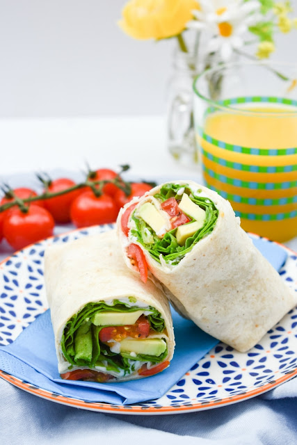 Green Power Lunch Wraps