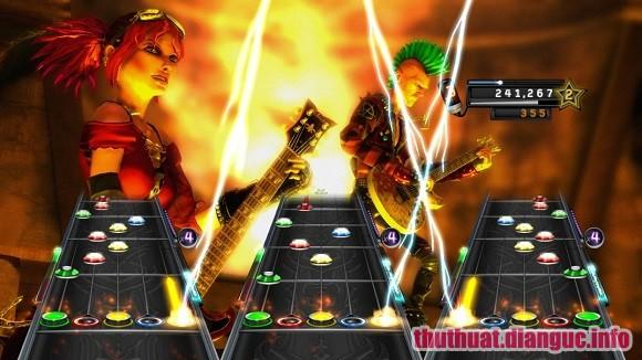 Game Guitar Hero World Tour Full key