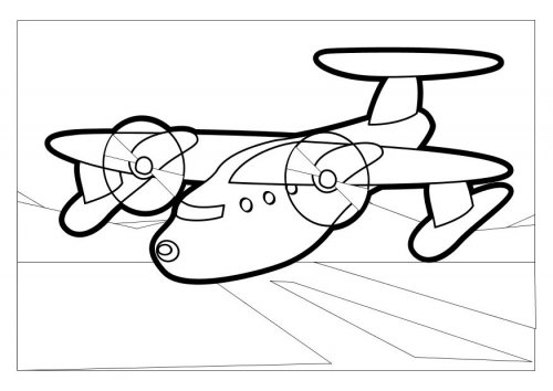 aeroplane coloring pages printable | Printable Airplane Coloring Sheet - For Kids Boys Drawing ...
