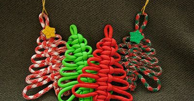 paracord christmas ornaments