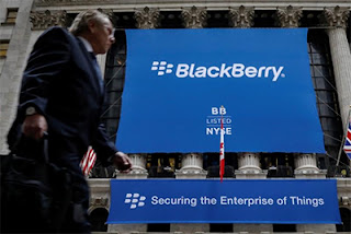BlackBerry Listed on NYSE