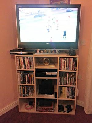 Homemade Custom Designed TV Storage Unit