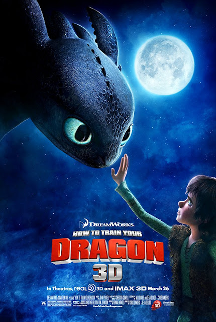 How To Train Your Dragon 2010 Dreamworks movie poster