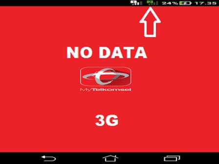 Kartu Perdana Telkomsel Tidak Muncul Data di Jaringan 3G