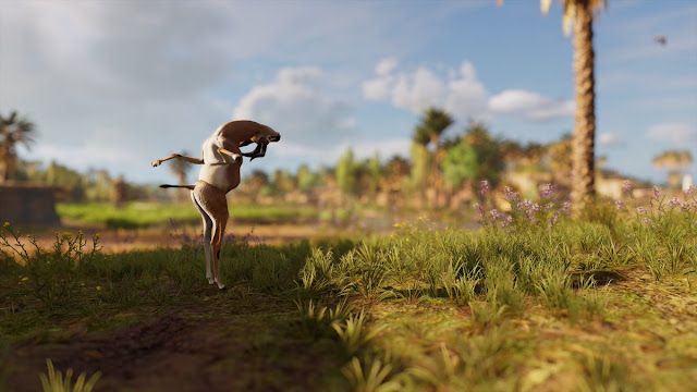 Assassin's Creed Origins Continue the Ubisoft Horror Glitch Tradition