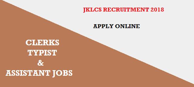 जम्मू एण्ड कश्मीर || Jammu 28 Posts JKLCS Recruitment Notification 2018