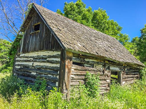 Ice Age Trail Springfield Hill Segment -1850's cabin