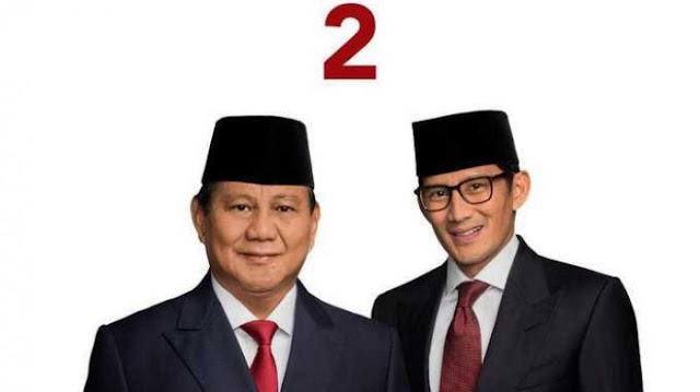 Analisis Sosiologis: Prabowo-Sandi Akan Memenangi Pemilu Presiden 2019
