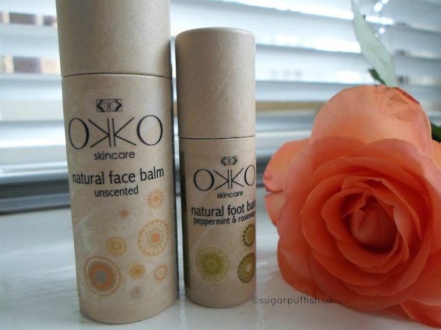 Review Okko Skincare Unscented Face Balm Peppermint & Rosemary Foot Balm