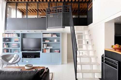 Apartament modern în Lyon cu două dormitoare amenajate la mezanin