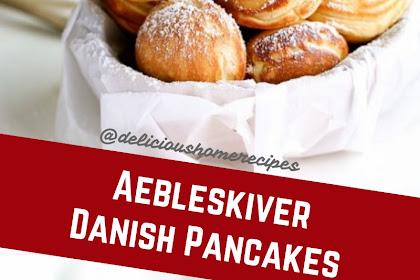 Aebleskiver Danish Pancakes #christmas #pancakes