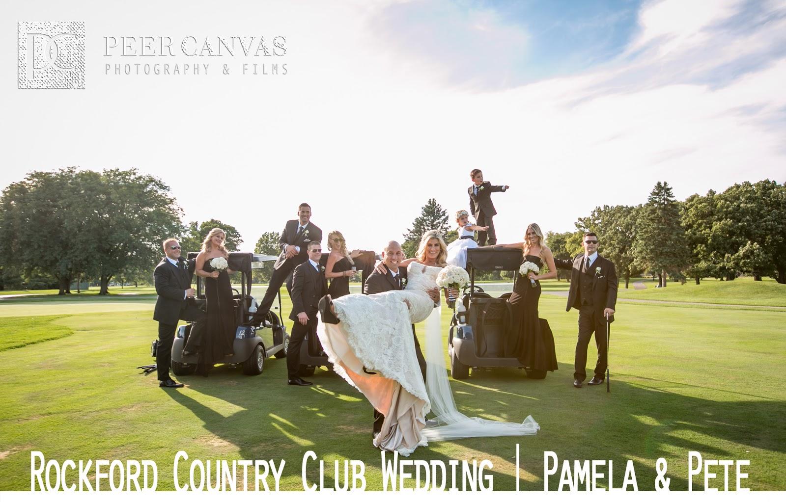 Rockford Country Club Golf Wedding Pamela Pete Peer Canvas Blog
