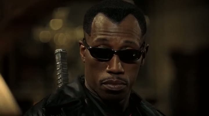 Screen Shot Of Blade 2 (2002) Dual Audio Movie 300MB small Size PC Movie