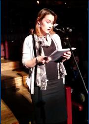 Carmen durante a intervención na XXAA BBVA 2016
