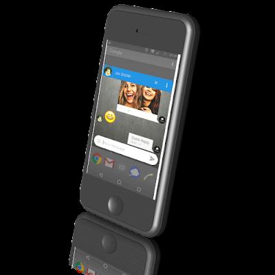 aplikasi sms android gratis Mood Messenger - SMS & MMS