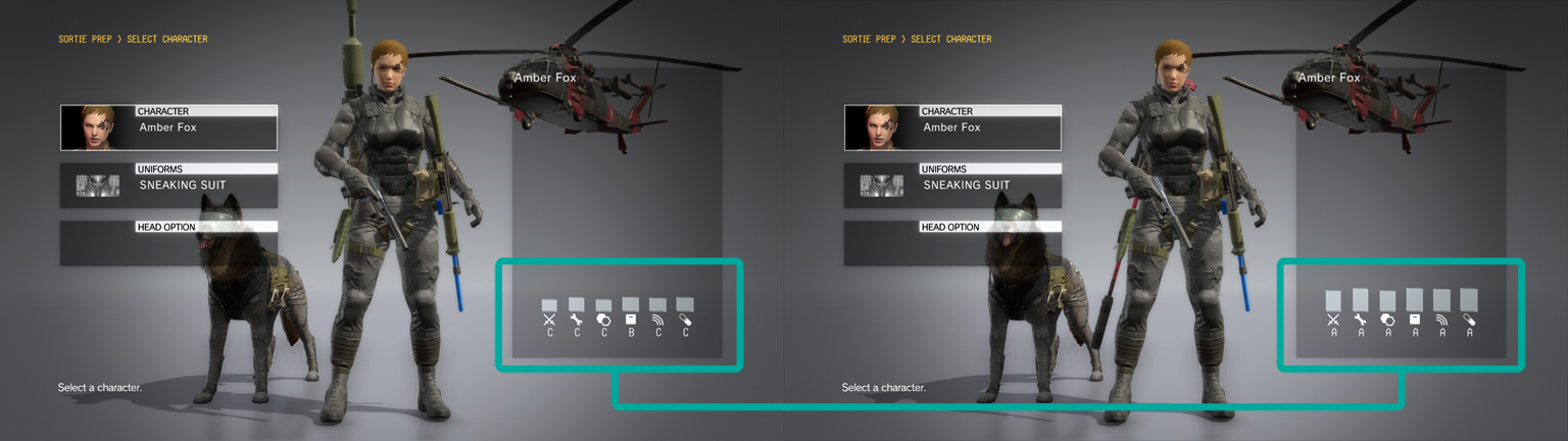 Vicsor's Opinion: Guide: Metal Gear Solid V - Female Staff