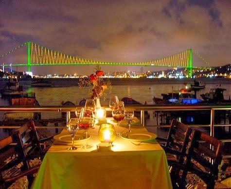 Romantik Bir Akşam Yemeği