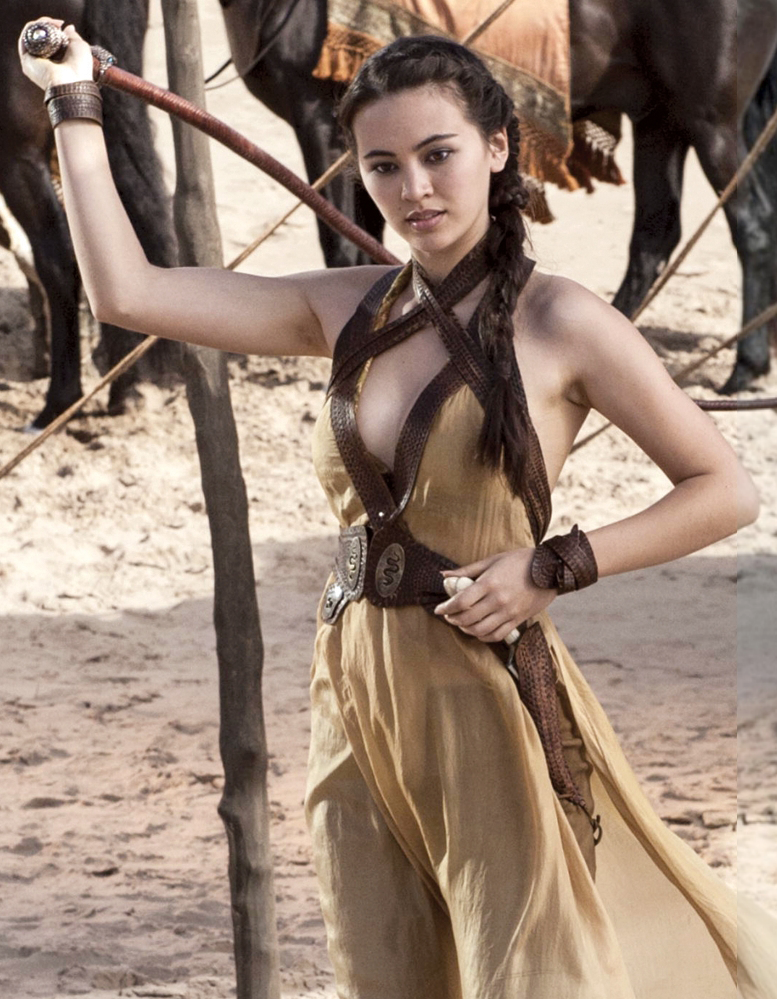Nymeria Sand (Jessica Henwick), the second eldest daughter of Oberyn Martell and a member of the Sand Snakes.