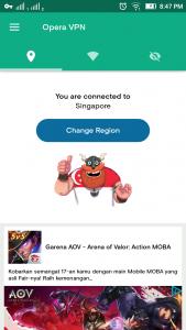 Cara Menggunakan Opera VPN di Android