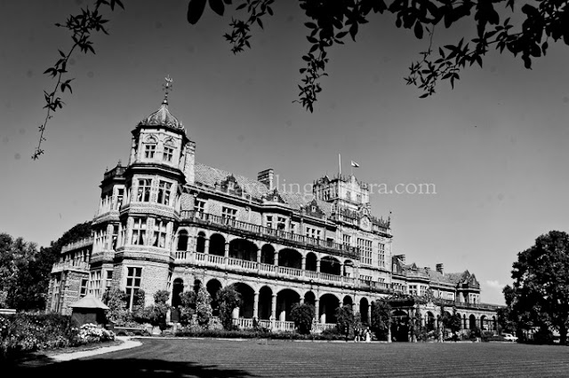 During one of my recent visits to Shimla, schedule was really busy and I also wanted to visit Viceregal Lodge. Usually I go to Viceregal Lodge via HPU route or walk down from Mall Road. This time the route changed and first time I climbed from Boileuganj...Here is first view we get after climbing a hill from boileuganj.I have stayed in Shimla for 3 years approximately but never went through this route, although it's quite easy and quick one to reach Viceregal Lodge. Buses for Boileuganj are very easily available from bus stand and Himachal Pradesh University. And then it's a 15 minutes climb which is not very steep.It starts from the chowk where roads from Tutoo, Summerhill, Bus-Stand and University meet. And lagoors will be there to welcome you. It's not very special because they can be found anywhere in Shimla to welcome you :)During the climb, HPTDC (Himachal Pradesh Tourism Development Corp.) Hotel 'Peter Hoff' can be seen just below the TV tower of Shimla. Peter Hoff is one of the good hotels in Shimla and it's situated next to Viceregal Lodge. Exactly it's in the middle of Chaura Maidaan and Viceregal Lodge. Via bus, it's accessible from 103. 103 is a bus stop near tunnel-no 103 and very popular stop in Shimla.New Bus Stand of Shimla is also visible during the climb. This is first time I saw this bus stand and it was amazing. I wanted to compare it with IGI airport but stopped myself :) ... But for sure, it's best among all the bus stands we have in North India at least. it's situated near Dhali. Old bus stand has been converted into Local bus stand and there are regular shuttles between new and old bus-stands. While coming back to Delhi, I did some mobilegiri at Shimla Bus stand and will share soon...Himachal Pradesh Judicial Academy also comes on the way from Boileuganj to Viceregal Lodge.It's a wonderful walk from Boileuganj to Viceregal Lodge as whole stretch is full of trees and nice flowers around. At times it feels like you are crossing through some garden. There are some governments residences as well, which makes this hill more lively.Apart from some institutes and houses, there are some buildings which seemed to be locked for last many years. But somehow, colors lie about these buildings. The building above shown was closed from all the directions and there seemed to be a long silence around the place.After a quick climb, we reached Viceregal Lodge. It was so quick that I forgot to mention that one of my cousin was accompanying me and we also discussed some changes happening in his institute in HPU (UIIT). Overall this was a fastest route to Viceregal Lode but probably I will still prefer the longer route which comes through Vidhan-Sabha, Cecil etc.