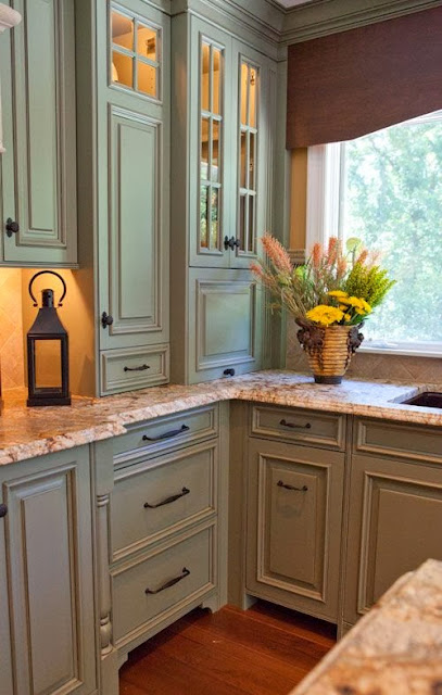 Benjamin Moore Aganthus Green: C.B.I.D. HOME DECOR And DESIGN: A KITCHEN WITH DETAILS