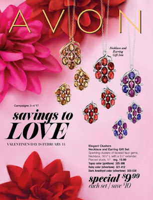 Avon Valentines Campaign 3 and 4 brochure shopping sales