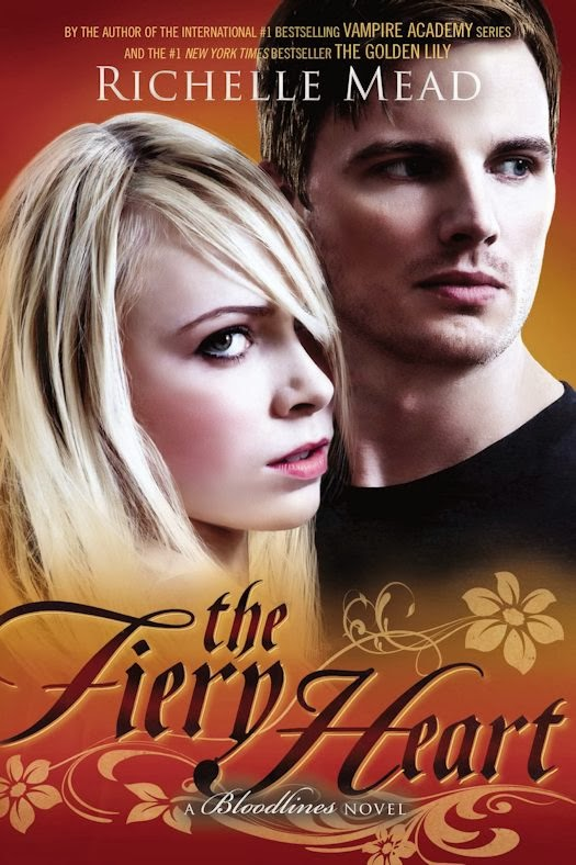 Review:  The Fiery Heart (Bloodlines 4) by RIchelle Mead