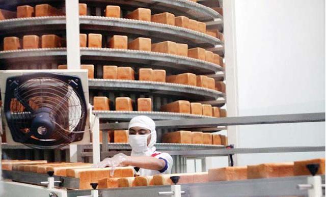 Laba Bersih Sari Roti Anjlok 52%
