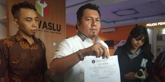 TKN Laporkan Ketua Panwaslu KL ke DKPP soal Surat Suara Tercoblos