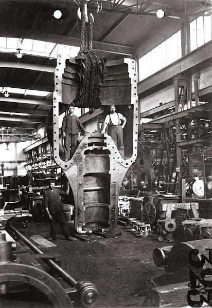 1939年BBC打造第一座燃氣渦輪機,以供應電力