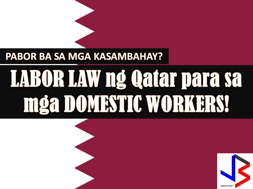 The following are stated under the new law;  1. Domestic Workers can only hire through licensed recruitment agencies, with exceptions made by the competent authorities at the Ministry of Administrative Development, Labour and Social Affairs (MADLSA).  2. Domestic workers are entitled to an end-of-service gratuity which will be a minimum of three weeks of wages for each year of service.  3. The employers are required to treat domestic workers well, guaranteeing their safety and dignity. The employers are also required to provide food, proper accommodation and medical care for their workers.