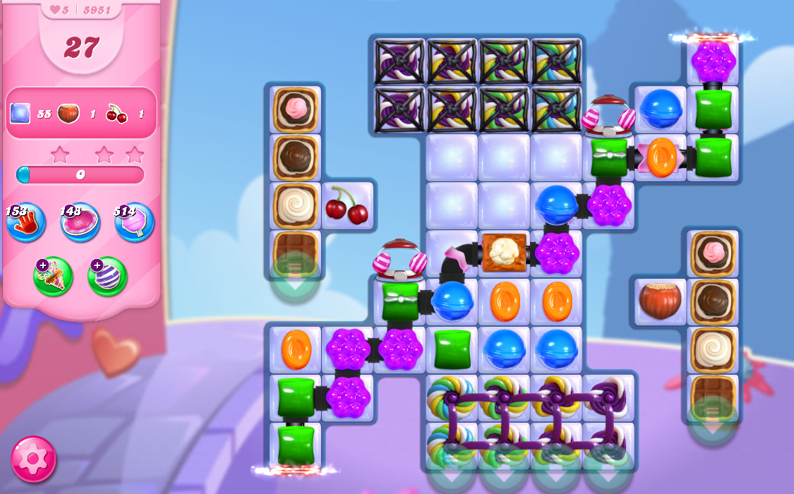 Candy Crush Saga level 5951