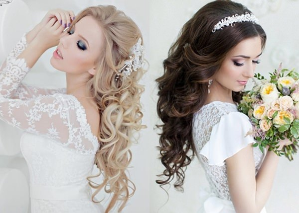 Wedding Hairstyle with Permanent Waves 7