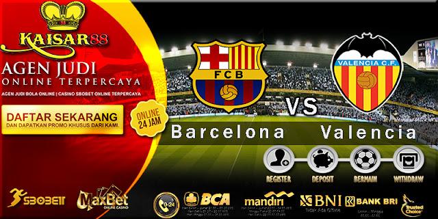 Prediksi Bola Jitu Barcelona vs Valencia 2 Februari 2018
