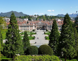 The Estensi Palace and Gardens in Varese