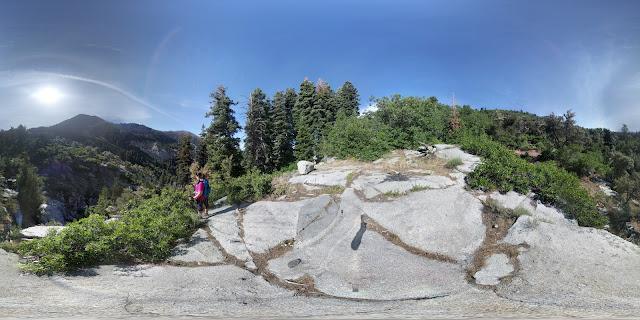 Upper Section of  HORSETAIL FALLS, ALPINE Utah Lone Peak Wilderness Area