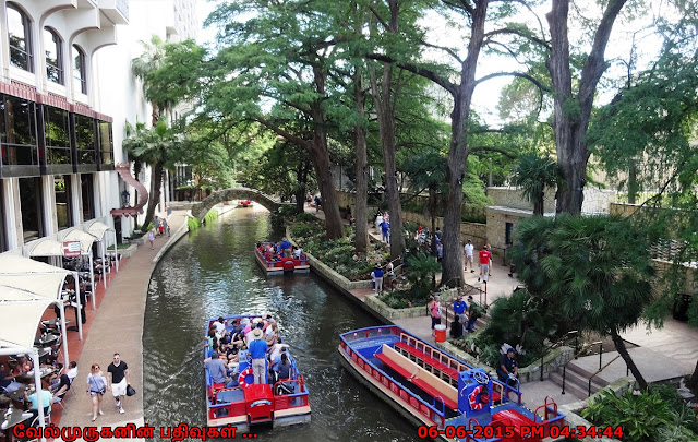 San Antonio Riverwalk Boating